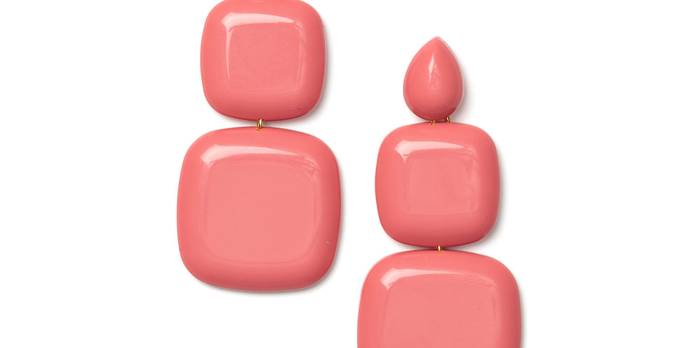 Calpe earrins pink