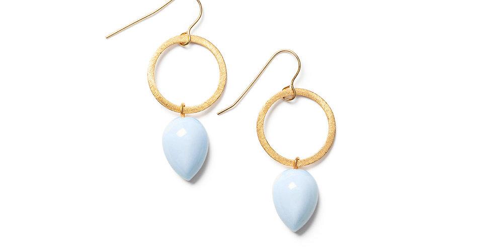 Ushi earrings baby blue