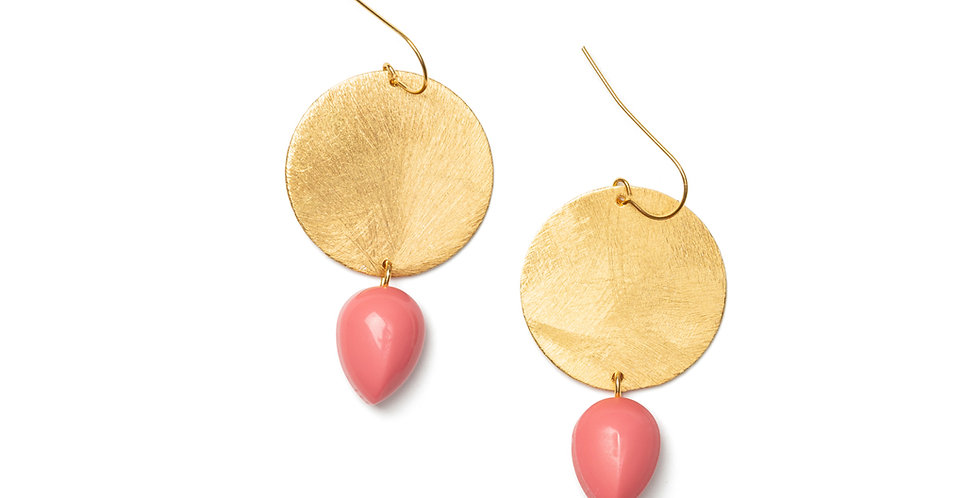 Paz earrings pink