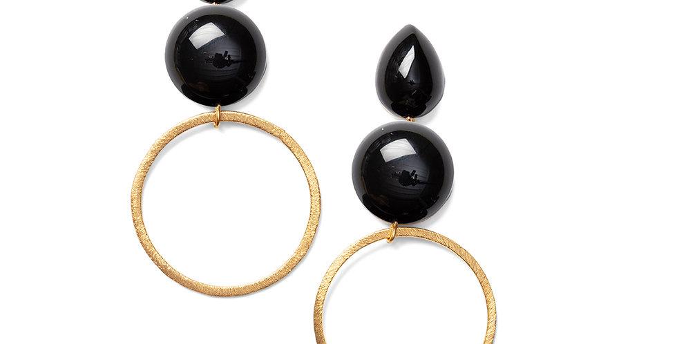 Yashi earrings black