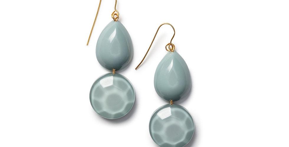 Kinoko earrings blue
