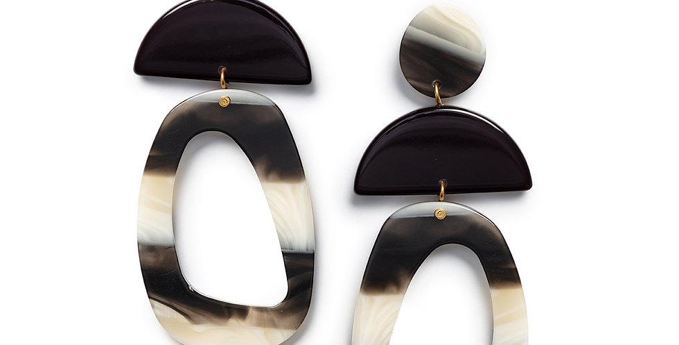 Yuni earrings black
