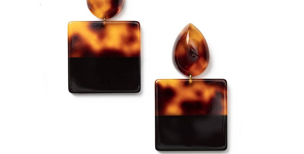 Flamme earrings tortu