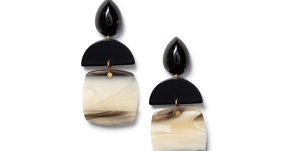 Uma Earrings black