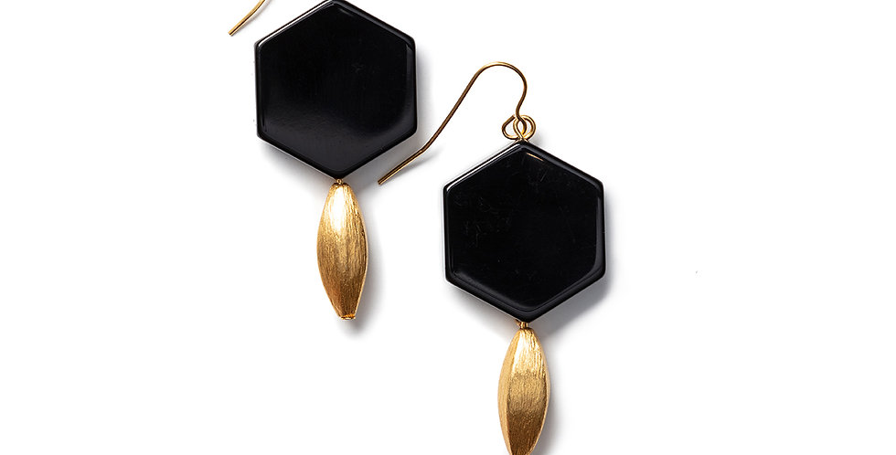 Hagi earrings black