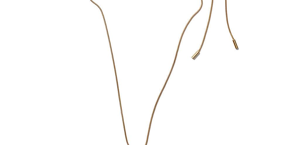 Chai necklace blue