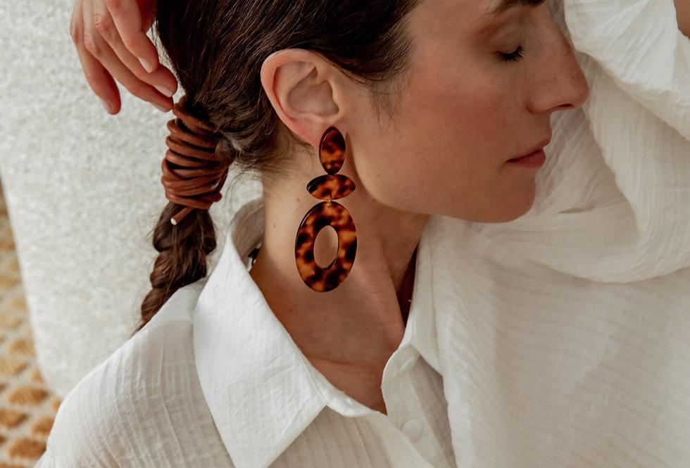 Pure earrings tortu