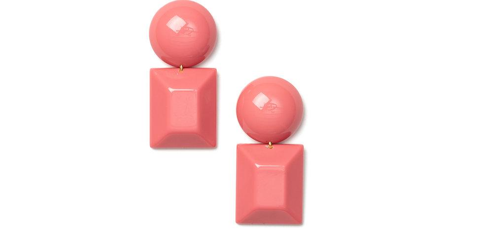 Verano earrings pink