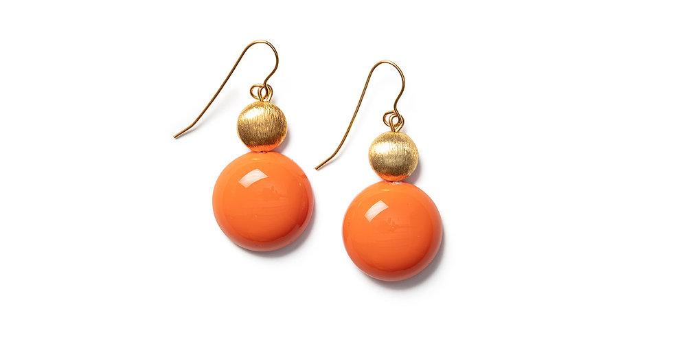 Odai earrings orange