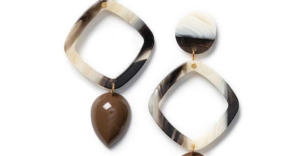 Inu Earrings khaki