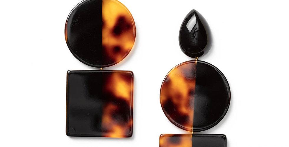 Charme earrings black