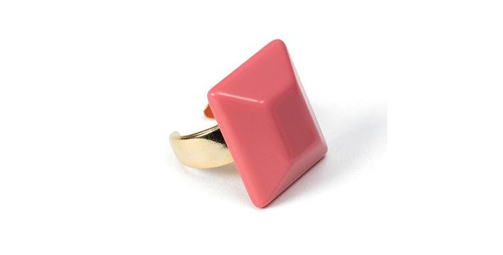 Aqui ring pink