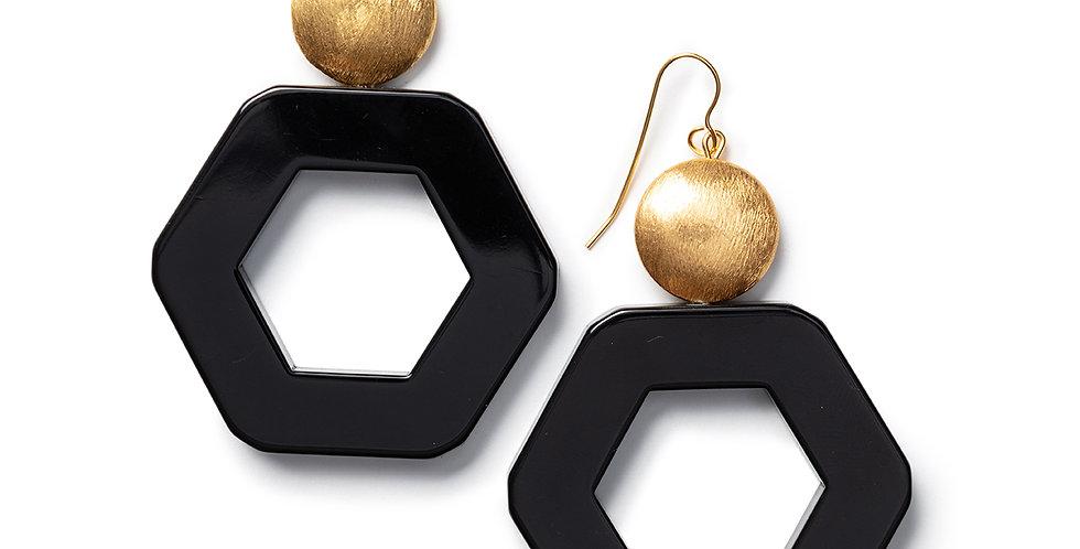 Izu earrings black