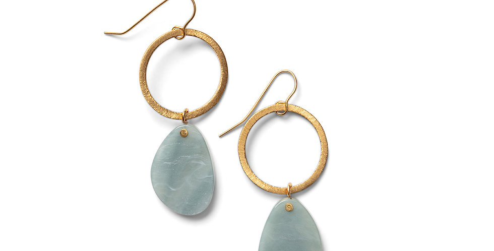 Sora earrings blue