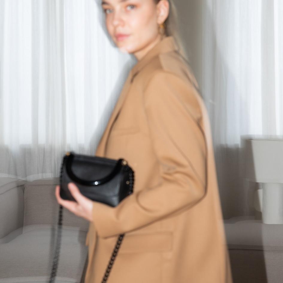 laurence delvallez bonnie bag black