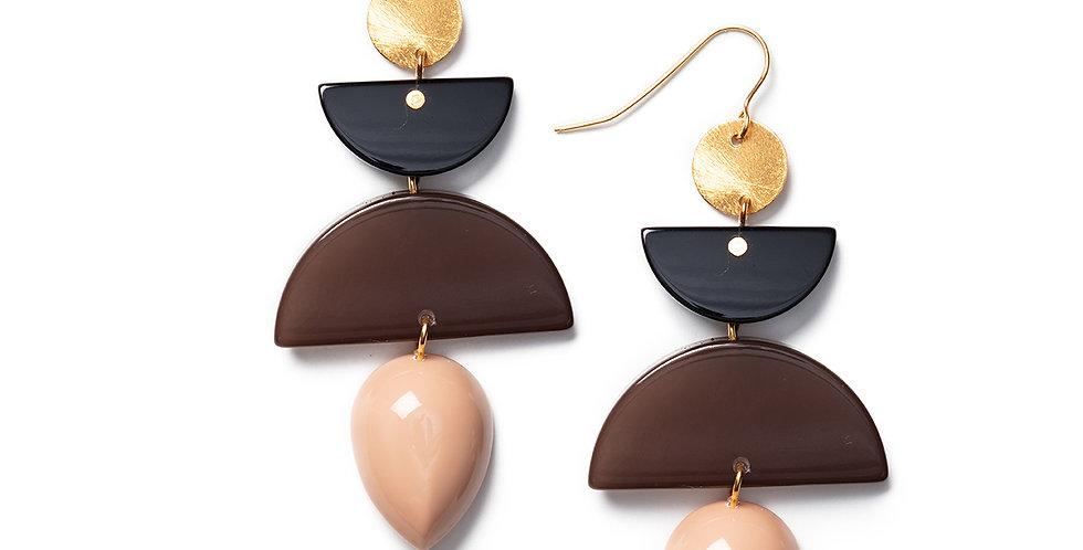 Ahiru Earrings pink