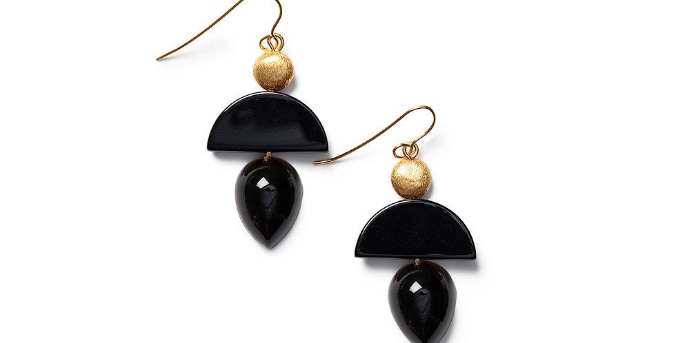 Neko earrings black