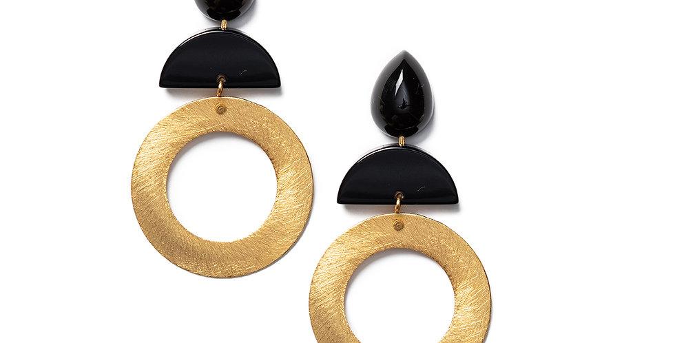 Hato Earrings black