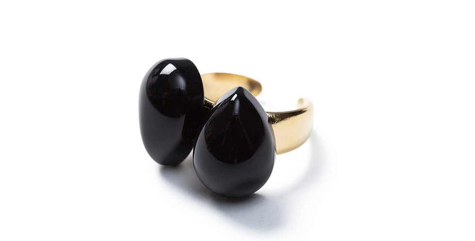 Muzi Ring black
