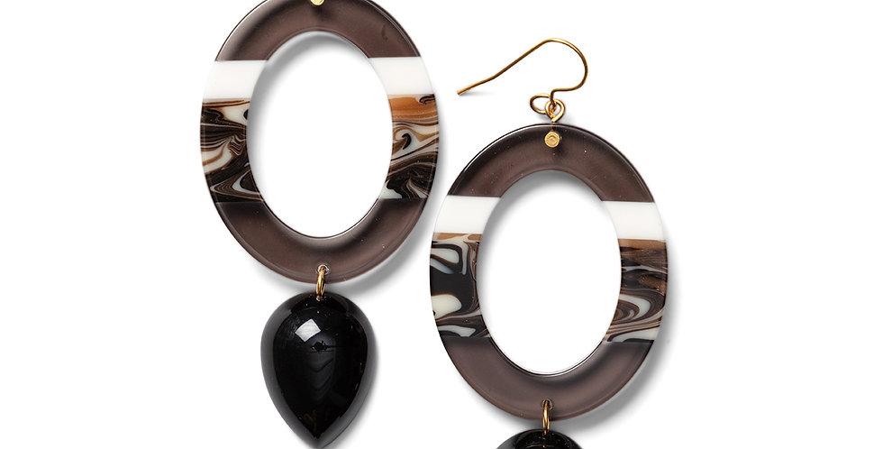 Nanao earrings black