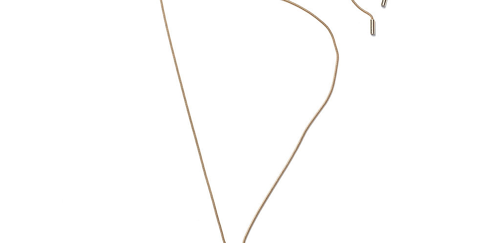 Matcha necklace sand