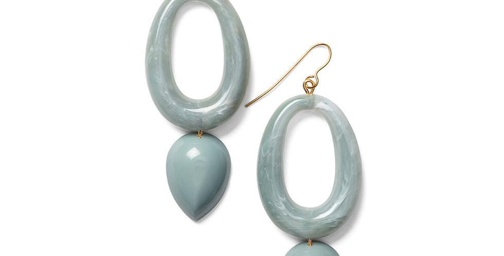 Kamiyu earrings blue