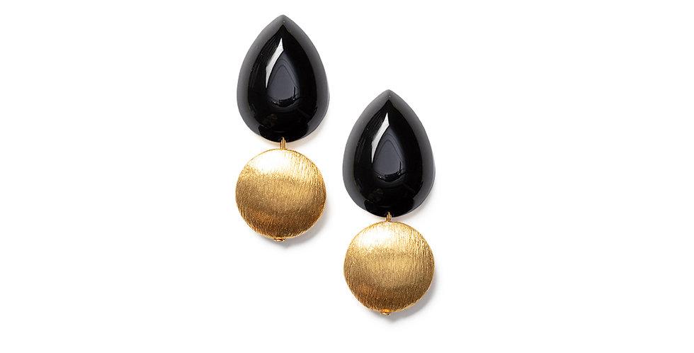 Momo earrings black