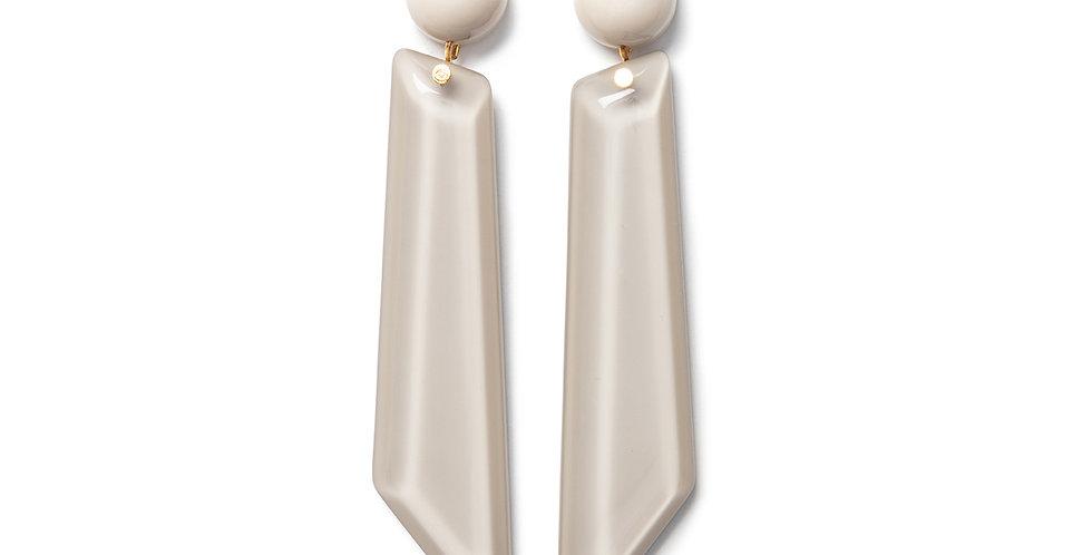 Kona earrings beige