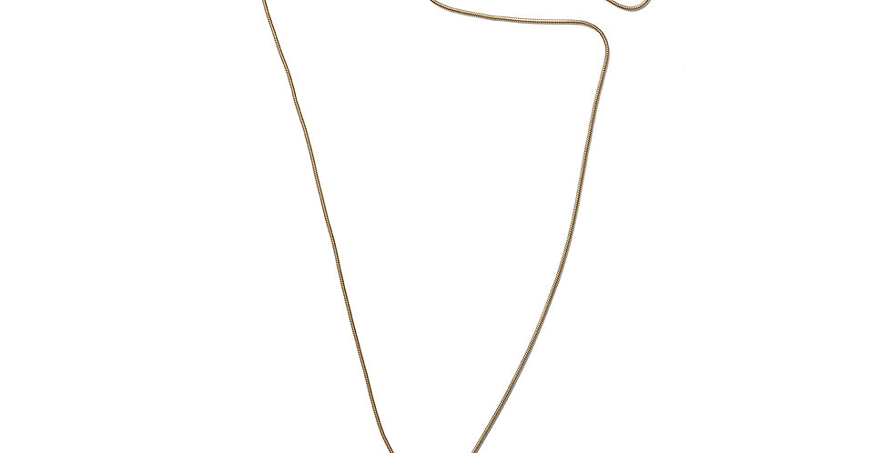 Matcha necklace rose