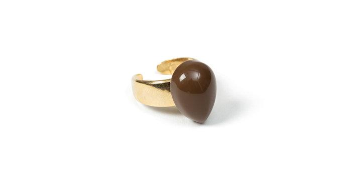 Slate ring brown