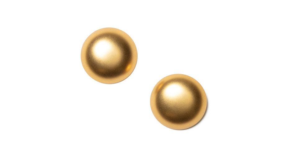 Karat earrings gold