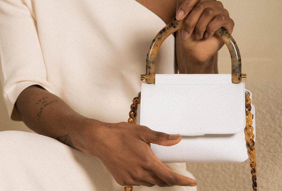 Bonnie bag white