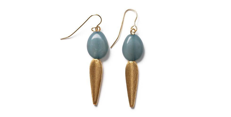 Take earrings blue