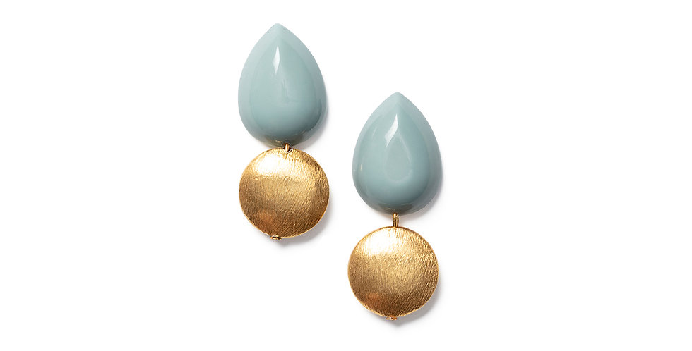 Momo earrings blue