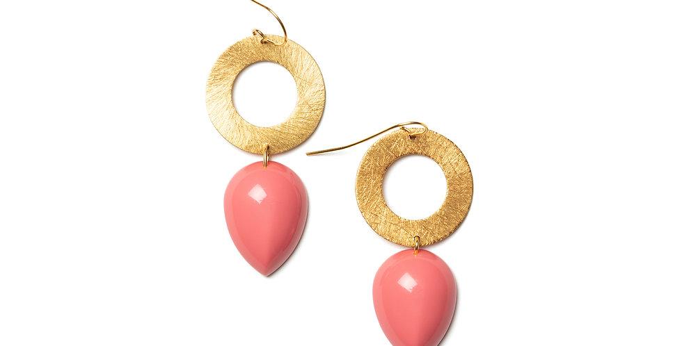 Vistas earrings pink