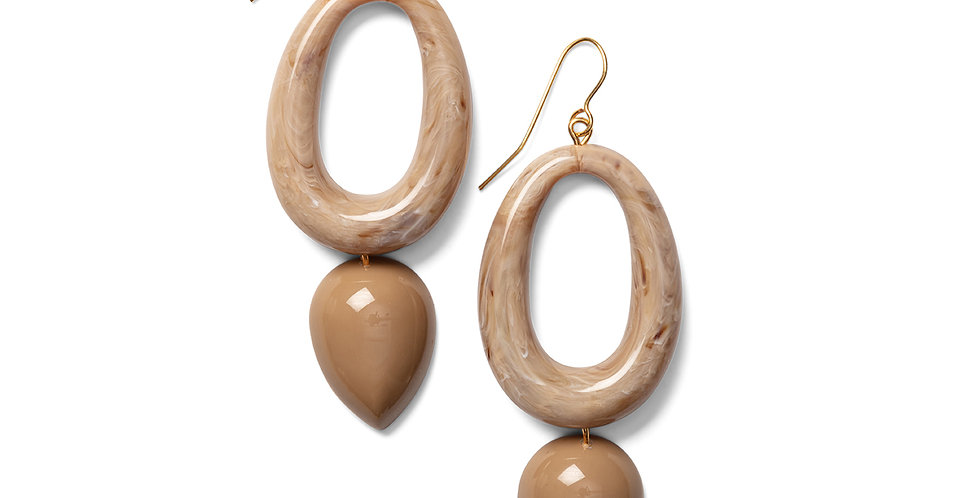 Kamiyu earrings sand