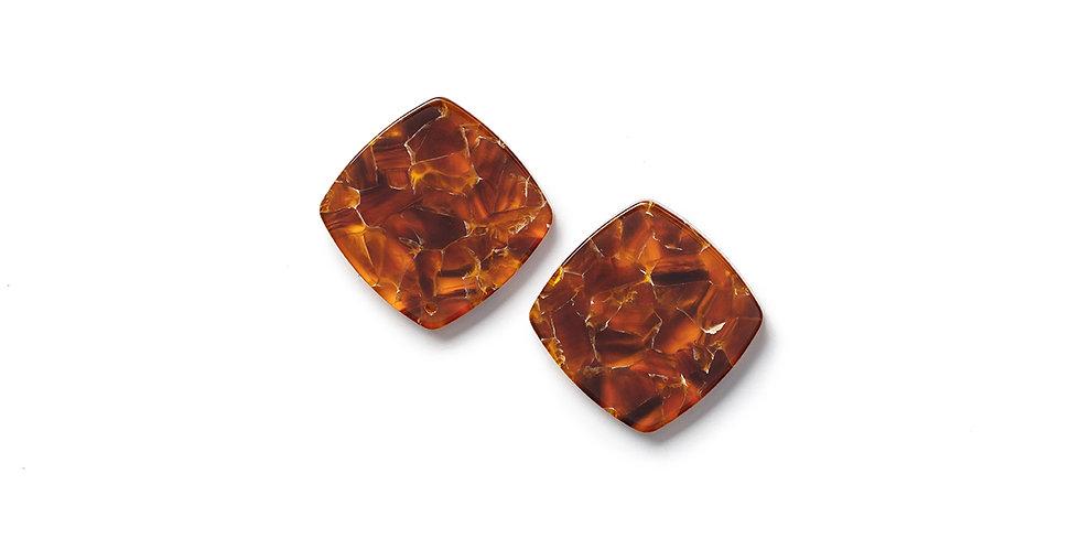 Yama earrings marmo
