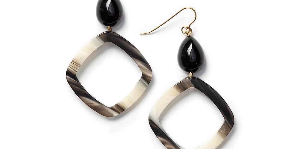 Roba Earrings black