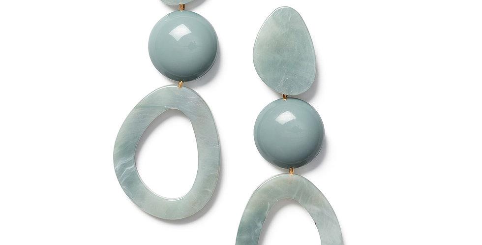 Taimu earrings blue