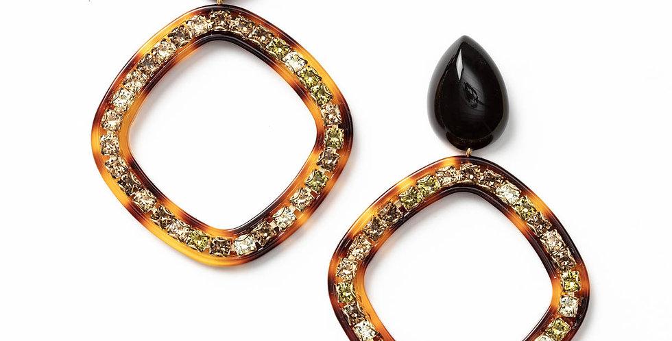 Amie earrings black