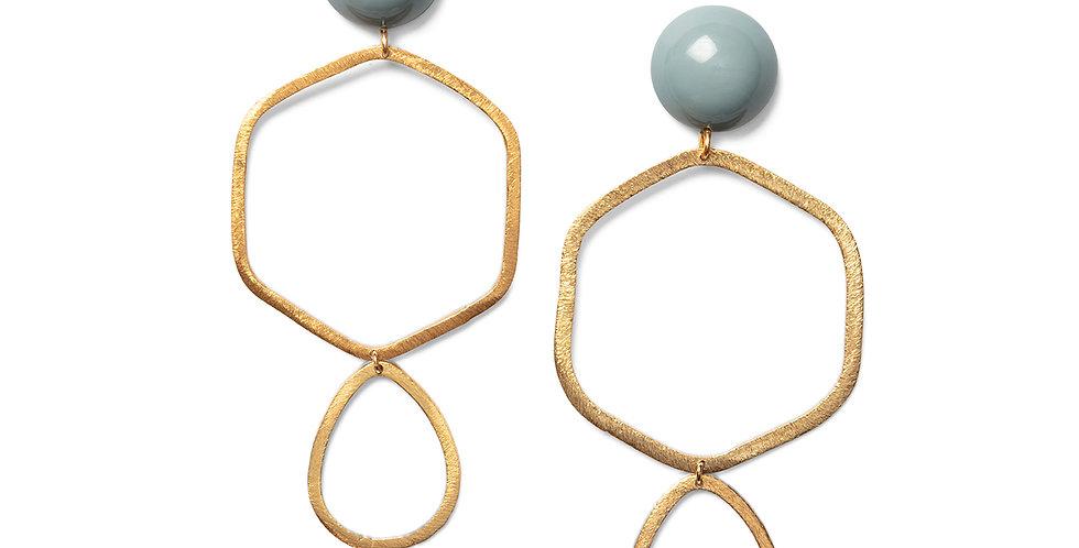 Oku earrings blue