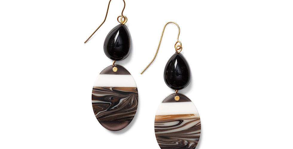 Kofu earrings black