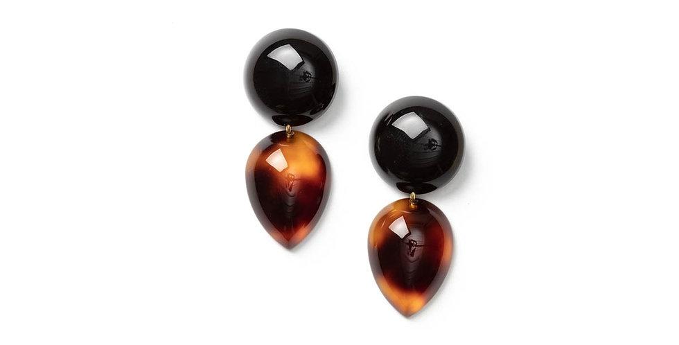 Ange earrings black
