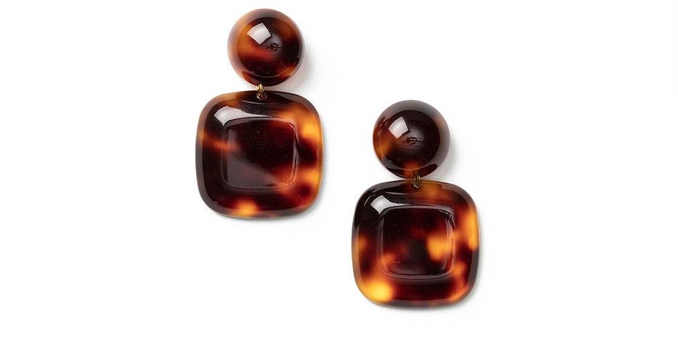 Bonheur earrings tortu