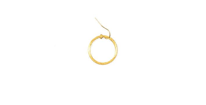 Linen earring single