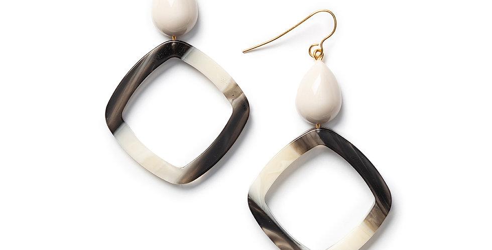 Roba Earrings beige