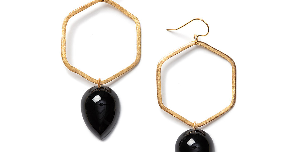 Tobu Earrings black