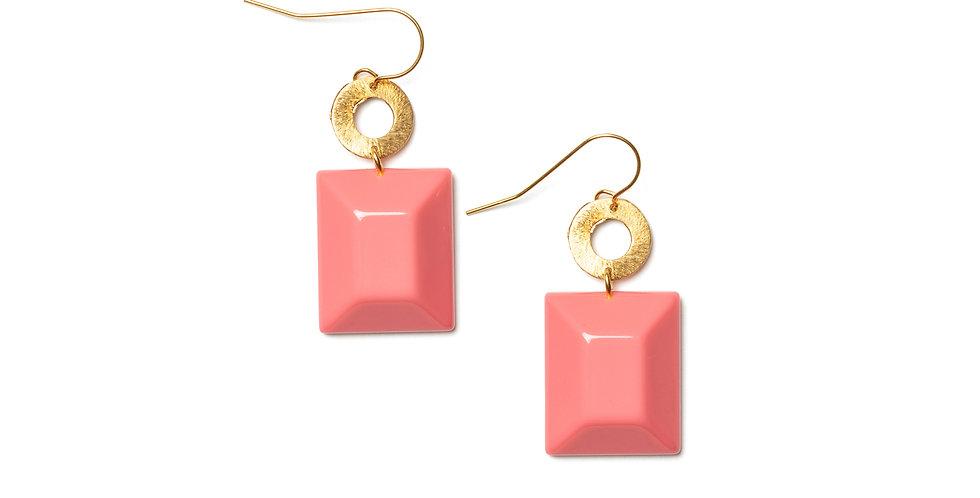 Pecas earrings pink