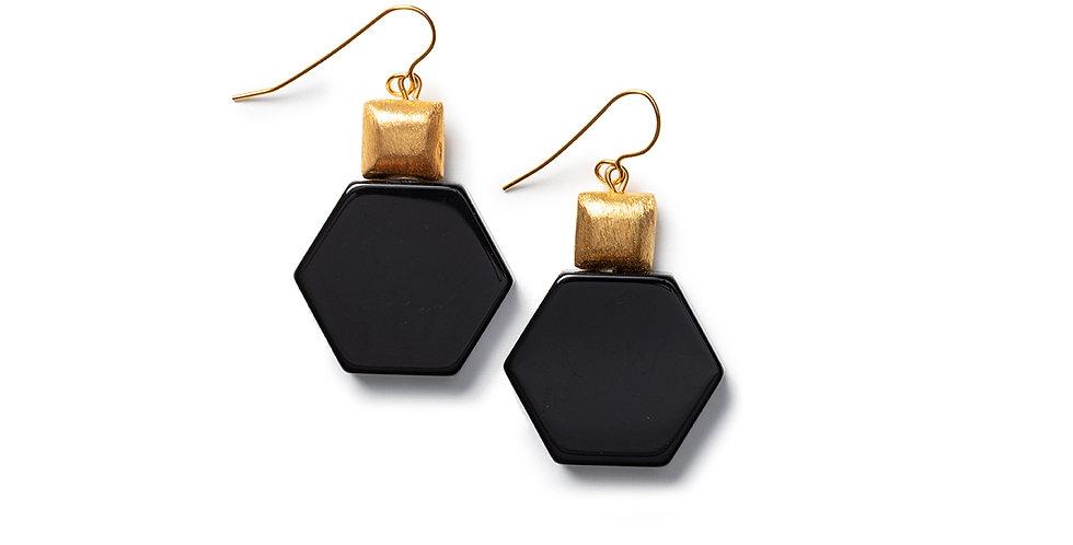 Tosa earrings black