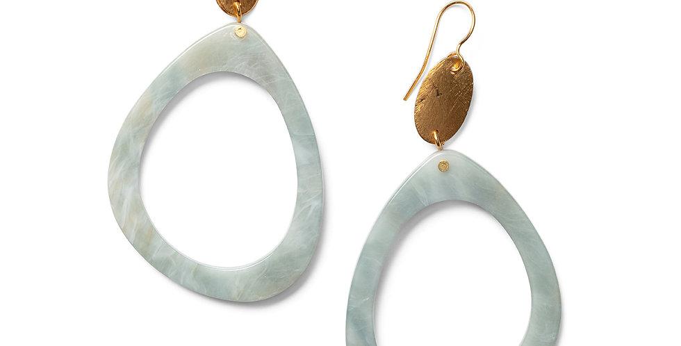Nashi earrings blue